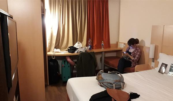 habitaciones del hotel ibis
